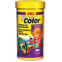 Корм  для аквариумных рыб ярких окрасов JBL NovoColor (ДжиБиЭль Новоколор) 100мл
