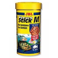 Корм для плотоядных рыб JBL Novo Stick M  5,5 л