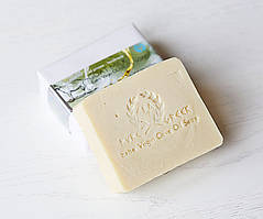 Органическое оливковое мыло Козье молоко (детская серия E&A Pure Beauty), 120g., Греция