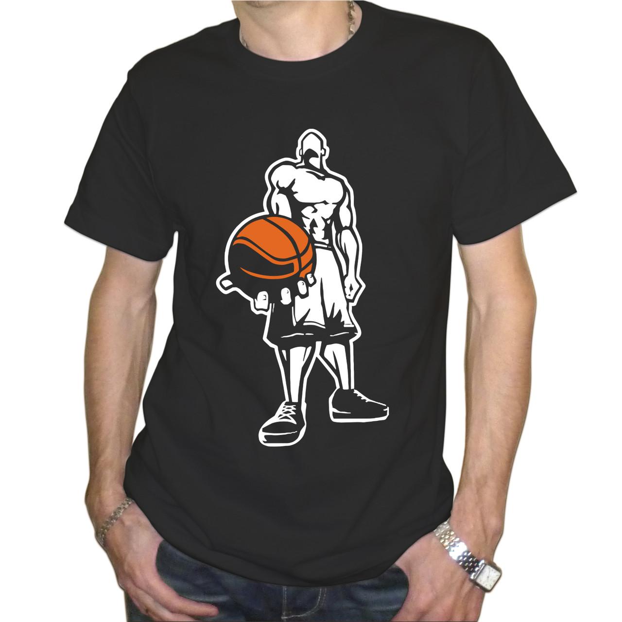 """Мужская футболка """"Баскетболист"""""""