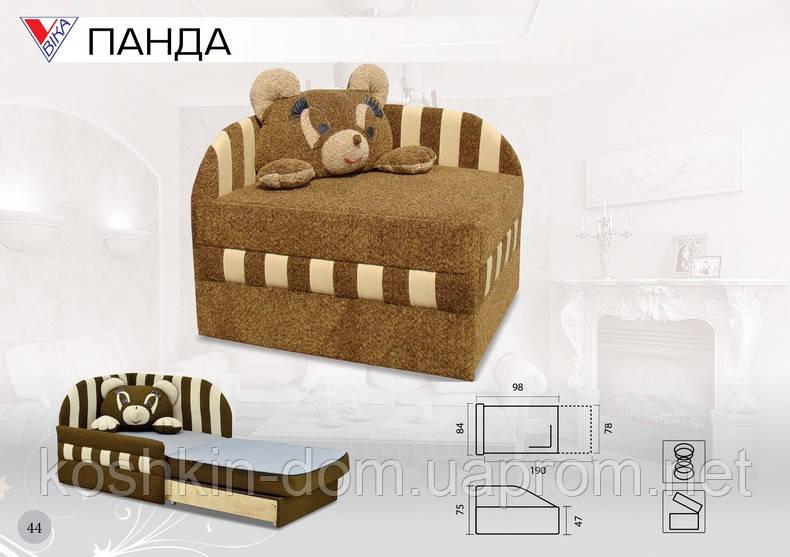 Диван-ліжко Панда викочування