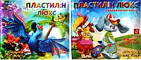 """Пластилин восковой 10 цв """"ЛЮКС"""" в пластиковой коробке"""
