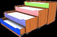 Кровать раздвижная четырёхместная. Мебель для школы. Мебель для детского сада