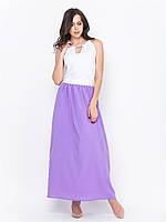 Красивое летнее длинное платье макси р.42-44