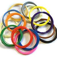 ABS пластик для 3D ручки 12 цветов по 20 метров + подарки!