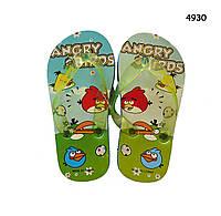Вьетнамки Angry Birds для мальчика. р.24/25