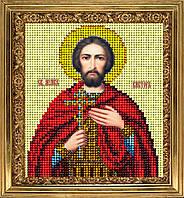 """Набор для вышивания ювелирным бисером икона """"Святой Виктор"""""""
