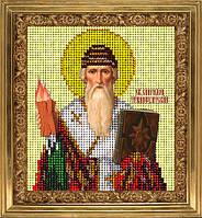 """Набор для вышивания ювелирным бисером икона """"Святой Спиридон"""""""
