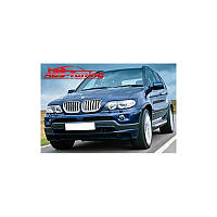 ЮБКА ПЕРЕДНЕГО БАМПЕРА ДЛЯ BMW X5 E53 (AD-TUNING, BMWE53-FS.2015)