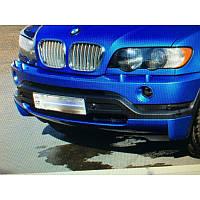 ЮБКА НА ПЕРЕДНИЙ БАМПЕР (ДО РЕСТАЙЛ) ДЛЯ BMW X5 (E53) 2000-2007 (DDA-TUNNING, NACLADBMW5304)