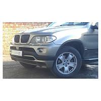 ЮБКА НА ПЕРЕДНИЙ БАМПЕР (ПОСЛЕРЕСТАЙЛ) ДЛЯ BMW X5 (E53) 2000-2007 (DDA-TUNNING, NACLADBMW5303)