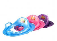 Детская накладка на унитаз пластик сручками