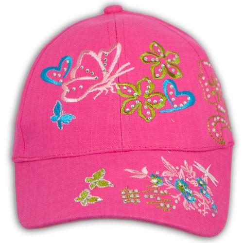 Кепка бейсболка для девочек от Мир шапок