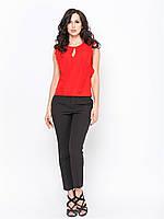 Стильные модные женские черные брюки р.48