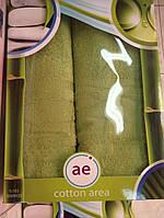 Набор из 2-ух бамбуковых полотенец Cotton Area  50х90см (1шт), 70х140см (1шт), Турция