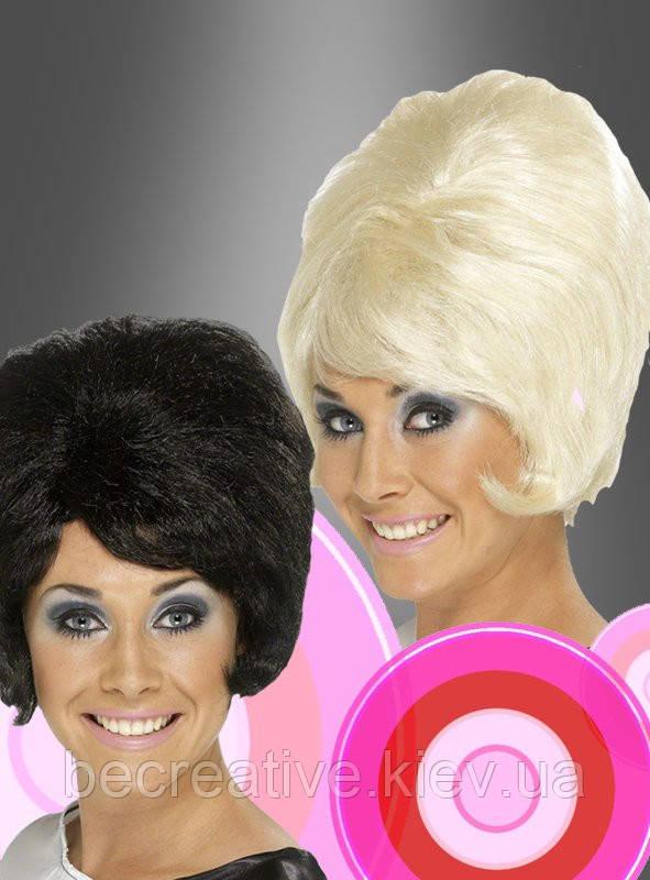 Карнавальный парик 60-х годов