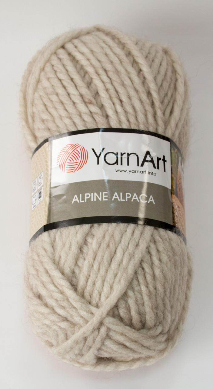 Пряжа alpine alpaca - цвет светло-бежевый