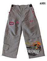 Брюки-шорты Hot Wheels для мальчика. 4, 5, 6, 6-7 лет