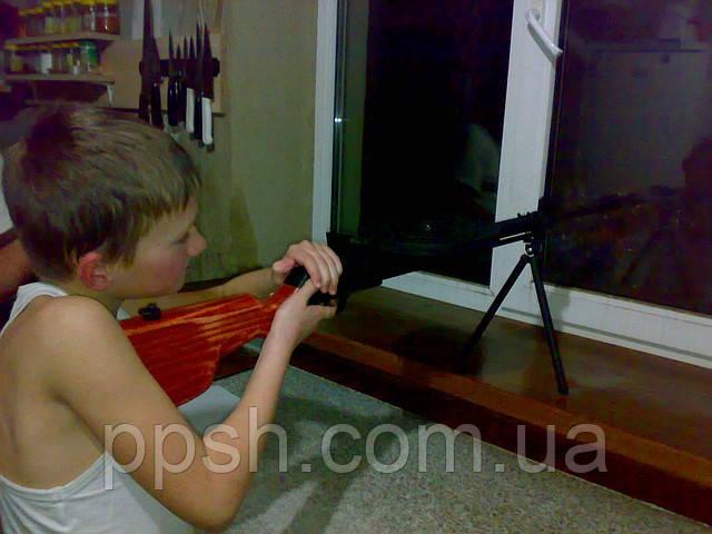Пулемет Дегтярева из дерева детский