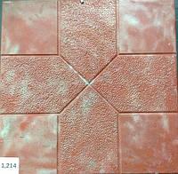 Формы для тротуарной плитки «Орнамент №1» глянцевые пластиковые АБС ABS, фото 1