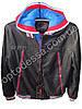 Куртка мужская кожзам Двойка- обманка (yw52a)