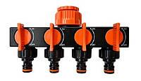 Планка-адаптер Aquapulse распределительная с 4-мя запорными кранами