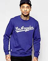 Свитшот мужской с принтом New Era LA Dodgers    Кофта
