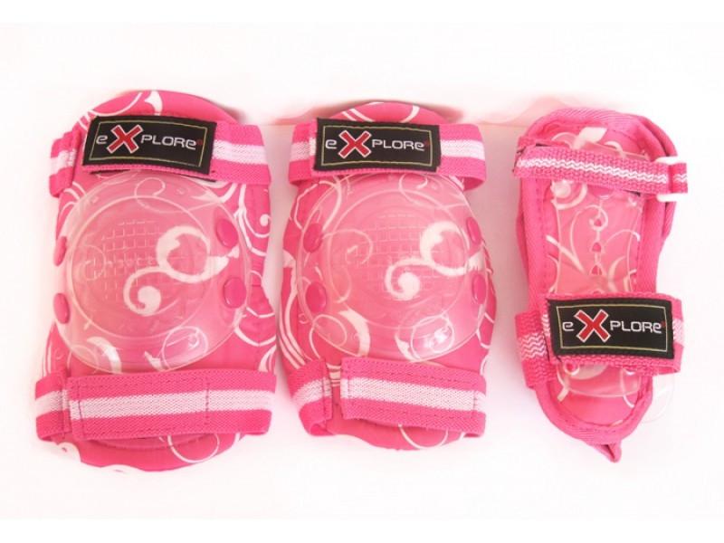 Защита детская Explore Cooper pink
