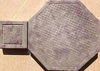 Формы для тротуарной плитки «Восьмигранник Циновка»  глянцевые пластиковые АБС ABS, фото 1
