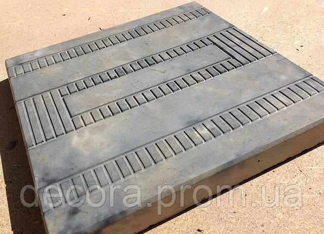 Формы для тротуарной плитки «Техно» глянцевые пластиковые АБС ABS