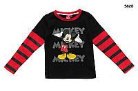Кофта Mickey Mouse для мальчика. Большемерит.   4, 6, 8 лет