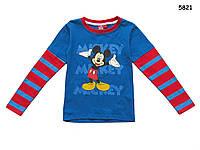 Кофта Mickey Mouse для мальчика. Большемерит. 2, 4, 6, 8 лет