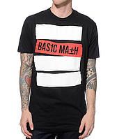 Футболка мужская стильнаяBasic Math Stripe