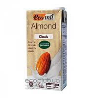 Молоко органическое растительное из миндаля классическое ТМ EcoMil 1л
