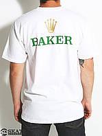 Футболка для мужиков с принтом Baker Bolex