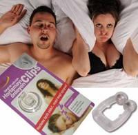 Магнитная клипса антихрап Snore Free Nose Clip. Поможет Вам решить проблему с храпом.