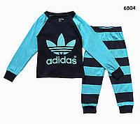 Пижама Adidas для мальчика. 95 см, фото 1