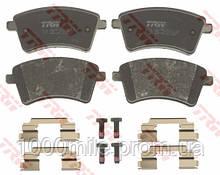 Тормозные колодки передние на Renault Kangoo II 2008-> — TRW (США / Германия) - GDB1785