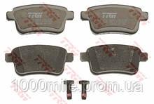 Тормозные колодки задние на Renault Kangoo II 2008-> — TRW (США / Германия) - GDB1786