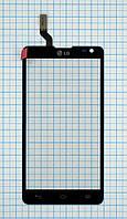Тачскрин сенсорное стекло для LG D605 Optimus L90 II black