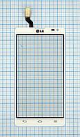 Тачскрин сенсорное стекло для LG D605 Optimus L90 II white