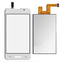 Тачскрин сенсорное стекло для LG D280 Optimus L65 white