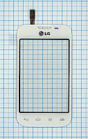 Тачскрин сенсорное стекло для LG D170 Optimus L40 white