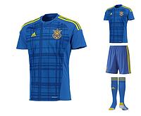 Футбольная форма Adidas Сборной Украины 2016 (комплект)
