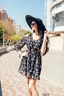 Женское шифоновое платье 326 Б