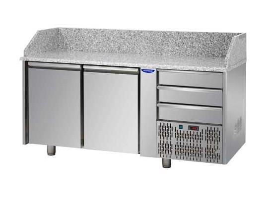 Холодильний стіл для піци Tecnodom PZ 02 EKO С3