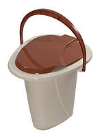 Ведро-туалет дачное на 16л