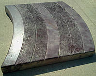 Формы для тротуарной плитки «Волна»  глянцевые пластиковые АБС ABS
