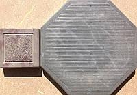Формы для тротуарной плитки «Восьмигранник-Смужка № 4 »  глянцевые пластиковые АБС ABS, фото 1