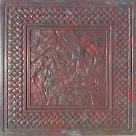 Формы для тротуарной плитки «Орнамент №2 » глянцевые пластиковые АБС ABS, фото 1
